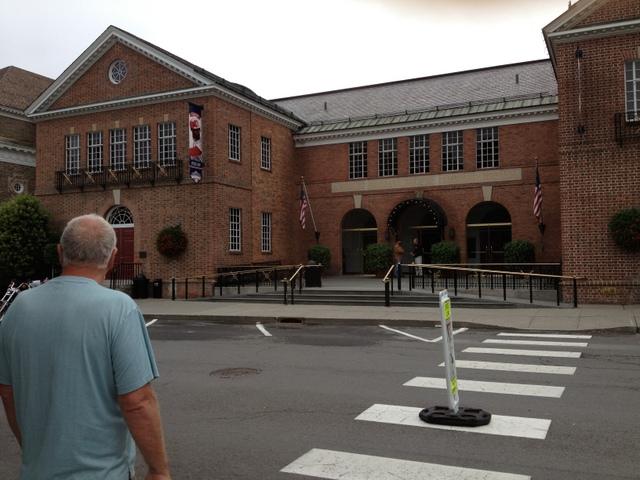 Main entrance, National Baseball Hall of Fame.